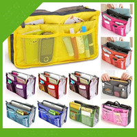 Wholesale Women Travel Insert Handbag Organiser Purse Large Liner Organizer Tidy Bag Pouch