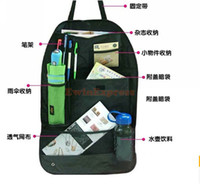 Wholesale Hot Good New X Car Auto Back Seat Organizer Collector Storage Multi Pocket Holder Hanging Bag Black