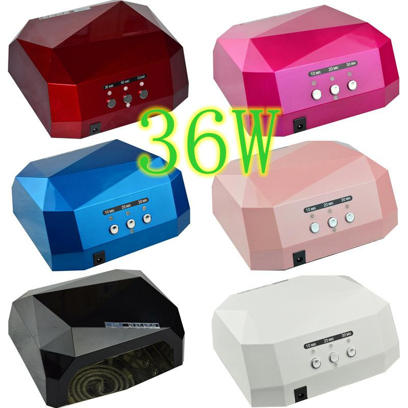 Quick CCFL + LED Nail UV Lamp 36W Nail Dryer for UV Gel Nail ...