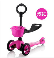 Cheap Switzerland Scooter Children Scooter walker three triple child shilly-car toys for children