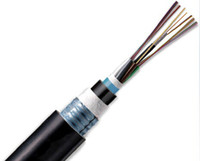 Wholesale GYXTW central tube light armored outdoor six core multimode fiber optic cable outdoor fiber optic cable six core multimode