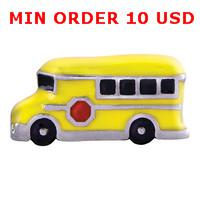 Cheap Charms SCHOOL BUS charms Best for locket mixed school bus