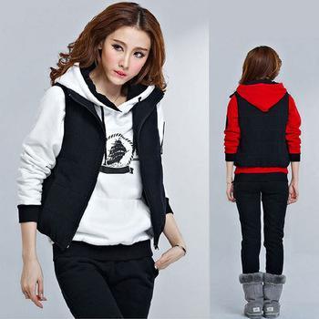 2014 New Fashion Sweatshirt Women Hoody Sport Suit Women Hoodies Letter Tops + Pants Women Coat Casual Jacket SSYN 6616 Online with $34.4on