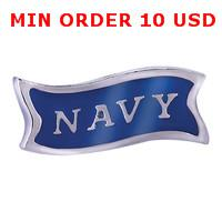 Cheap US NAVY charms Best magnetic glass