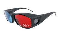 Cheap Re-useable Plastic Anaglyphic 3D glasses 3D NVIDIA VISION DISCOVERY 3D glasses for 3D PC Computer Retail Free Shipping