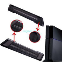 Green Yes Yes Black New Vertical Stand Dock Mount Cradle Holder for Sony PlayStation 4 PS4