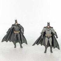 Wholesale The Dark Knight New Batman DC Universe Arkham City Legacy Gray Inch cm Action Figures collection model