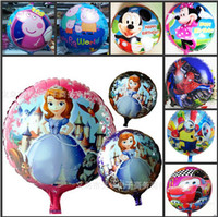 balloons delivery - Cheap Inch Cartoon Movie Aluminum Foil Balloon For Kids Toys Christmas Wedding Birthday Party Decoration Supplies Fast Delivery