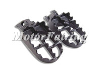 aluminum billet foot rest - Brand New CNC Billet Alloy Motorcyc Foot Pegs Peg Rest For KTM Aluminum Black MT216