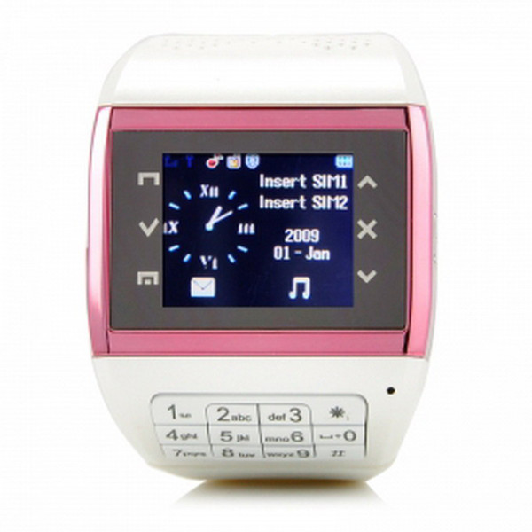 Venda quente 1,5 polegadas Q8 Touch Screen Cell Phone Watch Dual SIM Card Camera Bluetooth Keyboard MP3 MP4