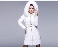2014 Luxury Winter fur collar Woman Long Down coat Faishon S...