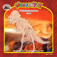 Wholesale 3D Wood Puzzles And Educational Toys Little Tyrannosaurus