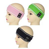 Headbands Gray,Pink,Candy Green,Rose Bohemian Brand KB Fashion Women Girls Winter Ear Warm Knitted Headbands Portable Bluetooth Headhand KB3085 Hair Accessories 4 Colors