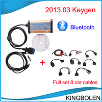 Code Reader And much more models cdp pro 3 in 1 Newest 2013.03 CDP Bluetooth 3 in 1 with OKI Chip car truck generic diagnostic tool TCS CDP with full set 8 car cables DHL Free shipping
