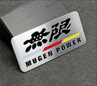 Personalized Sticker Whole Body  Metal Auto Car Decals Badge Emblems Stickers for SPORTS Racing MUGEN POWER NEW