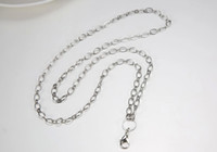 Wholesale floating locket chain necklace fit for floating locket pendant