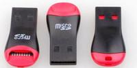 al por mayor 8gb micro sd cards-USB 2.0 Adaptador de velocidad del lector de tarjetas de memoria del TF M2 Alto Micro SD T-Flash de 4gb 8gb 32gb 16gb 64gb 128gb TF tarjeta Micro SD TF Card Reader USB
