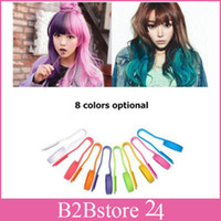 Wholesale- 24pcs lot Dexe Hair Dyeing Clip Gradient Hair Pen...