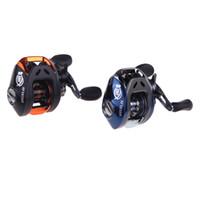 Baitcasting Reels carp fishing reels - High Speed BB Ball Bearings Bait Casting Fishing Reel Carp fishing Gear Baitcasting Reel AF103 Black Blue H10389
