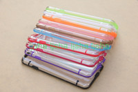 Thin Transparent Crystal Clear Soft Plastic Back Cover Case ...