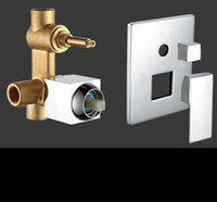 Wholesale All Brass Bathroom Accessory Levers Shower Valve