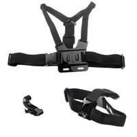 Wholesale New Chest Harness Head Strap Mount For Hero HD Go Pro Chesty Plus ST Gopro Accessory W0067A