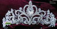 Tiaras&Crowns Rhinestone/Crystal  Shining Wedding Bridal Crystal Veil Tiara Crown Headband