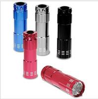 Wholesale clearance sale Black MINI LED Mini Portable White W LED Super Bright Flashlight Electric Torch Colors to Choose