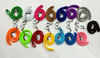 Wholesale Lanyard Neck Sling EGO Necklace String with a Ring for EGO eGo T eGo W eGo C Electronic Cigarette E cigarette Various Colors