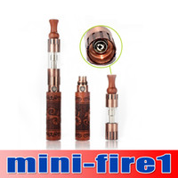 DHL free !!! mini fire 1 e cig kit 650mah 900mah Skull 12 co...