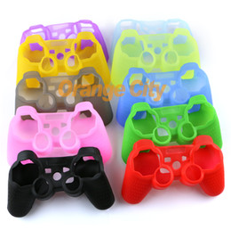 High Quality Silicone Rubber Skin Cover Protective Case for PS3 Controller