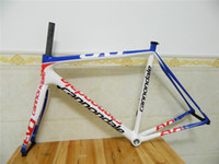 Wholesale Blue White Red Carbon fiber road bike Frame Carbon Road bicycle Frame Size cm Carbon EVO bicycle frameset