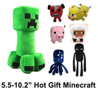 2014 Hot toys Minecraft Action Figures Soft Plush Toys Ender...