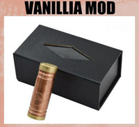 Cheap copper Vanilla Copper Best Electronic Cigarette 510 thread Vanilla Mech Mod