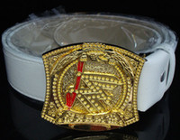 Wholesale Retail Wrestling Champion Belt White Black Brown colors for Choice