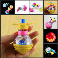 Wholesale New Arrival Rotating Flash Spinning Top Kids Toys Item For Christmas Gift Toy