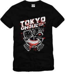 Free shipping new arrival Japanese anime Tokyo Ghoul Printed short sleeve t-shirt anime Tee 100% cotton Tshirts