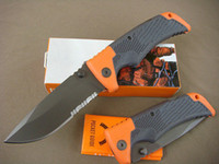 bear scout - 19cm Gebo bear Scout survival knife Cr17Mov blade folding blade knife tactical knife knives with logo and original box