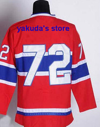 Wholesale Hot Sell Ice Hockey Jersey Men s MC Erik Cole Red Jerseys Embroidery logos Tops Buy hockey Jersey at dhgate For Sale