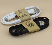 For Samsung   YXH Free DHL 1m 3ft HTC Micro USB Data Sync Charge cable for HTC Samsung Galaxy Note 3 N9000 N9005 N9006 Android universal phone
