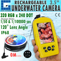 Wholesale FF3308 Waterproof M Cable Length Underwater Fishing Inspection Camera System CMD sensor with inch TFT RGB Monitor Fish Sea