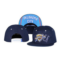 Wholesale New Thunders Snapbacks OKC Team Hats Brand Basketball Caps Fashion Headwears Hot Caps for Men and Women Sports Caps Mix Order