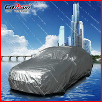 Wholesale 4m m m Universal Suit Anti UV Rain Snow Resistant Waterproof Outdoor Full Car Cover S M L XL XXL For Choice