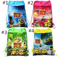 Wholesale Retail New Arrival Quality Cute Despicable Me Minion Backpack Child PRE School Kid Boy and Girl Cartoon Bag styles