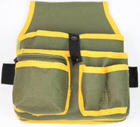 Wholesale Multifunction Canvas Pocket Pouch Portable Kit Bag Electrical Repairing Tool Bag