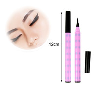 10830# Eyeliner Yes New Black Soft Brush Liquid Eyeliner Pen Lasting Eye Liner Pencil Makeup Cosmetic Free Drop Shipping