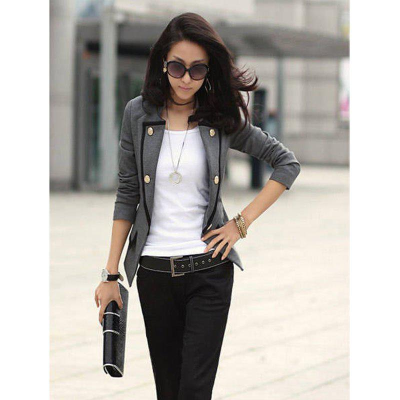 New Fashion Spring Autumn Women Blazer Jacket Ladies Casual Suit
