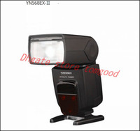 Wholesale Yongnuo TTL YN568EXII YN EX II Flash Unit Speedlite for Canon Dx Ds D DIII DII D D D D D D D D D D D ST E2