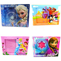 Wholesale 4Types Newest Frozen Princess Paper ANNA photo frame x16 CM Pictures Frame Children s Gift