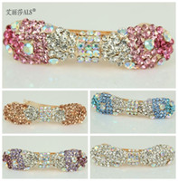 Barrettes & Clips Women's Party Fashion hot selling Hair Jewelry mix colors Barrette Hair Clip Hair Jewelry Women's Jewelry Sweet Little Pearl diamond hair accessories
